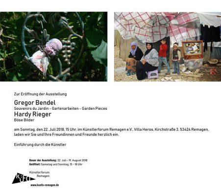 Gregor Bendel - Hardy Rieger @ Villa Heros | Remagen | Rheinland-Pfalz | Deutschland