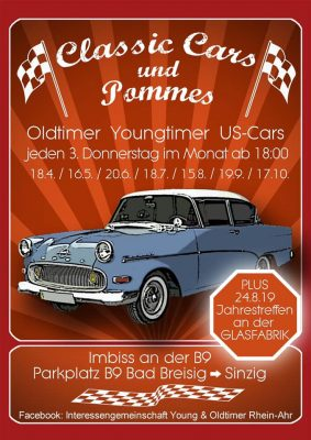 Classic Cars & Pommes @ Parkplatz B9 Bad Breisig | Bad Breisig | Deutschland