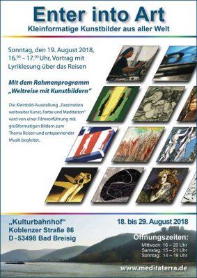 Weltreise mit Kunstbildern @ Kulturbahnhof Bad Breisig | Bad Breisig | Rheinland-Pfalz | Deutschland