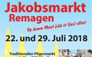 Jakobsmarkt am 22. und 29. Juli 2018 in Remagen