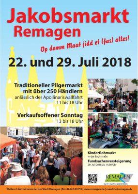 Jakobsmarkt 2018 in Remagen @ Remagen | Remagen | Rheinland-Pfalz | Deutschland