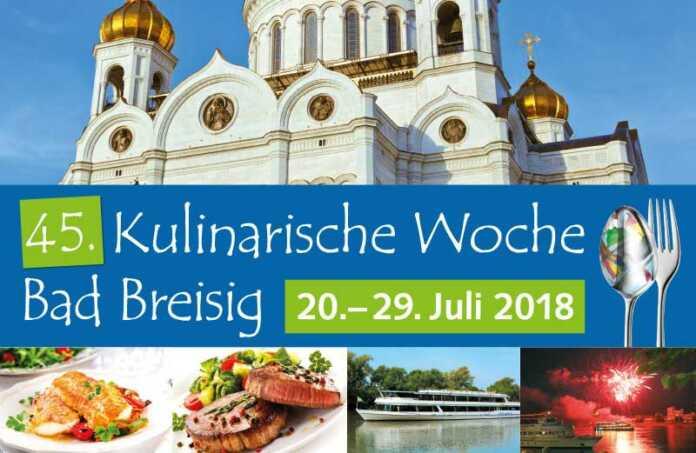 45. Kulinarische Woche in Bad Breisig Vorschau
