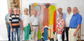 Galerie Frank Bliss versteigert Bild für Remagener Vereine