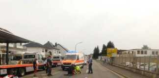 Rollerfahrerin bei Verkehrsunfall schwer verletzt