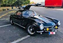 300 SL beim Oldtimer GrandPrix gestohlen