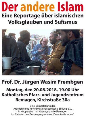 Der andere Islam @ Katholisches Pfarr- und Jugendzentrum in Remagen | Remagen | Rheinland-Pfalz | Deutschland