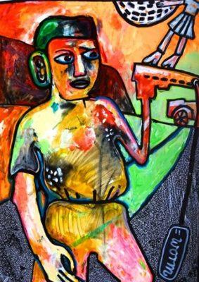 Malereien von Stefanie Manhillen -DICKE, FETTE SOßE @ M.A.SH. | Remagen | Rheinland-Pfalz | Deutschland