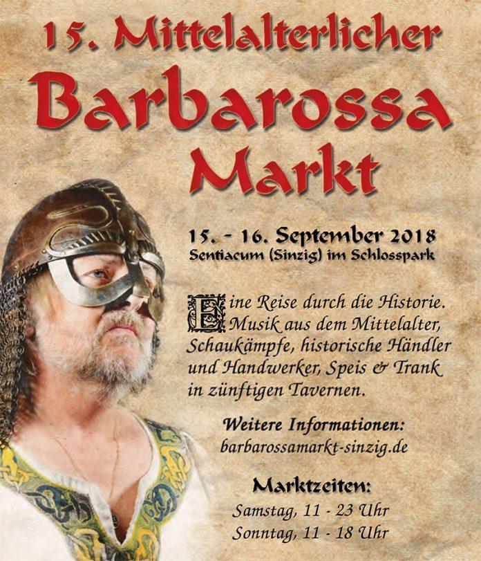 15. Barbarossamarkt am 15. und 16. September 2018