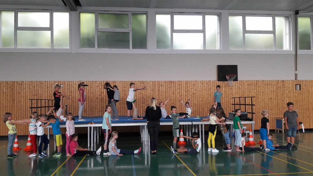 Zirkusprojekt mit der Jugendpflege der Verbandsgemeinde Bad Breisig