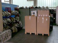 Hilfskonvoi nach Griechenland - Sinziger Feuerwehr sammelte Spenden