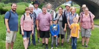 Wandertour mit den Grünen zum Thema Hochwasser