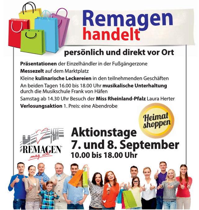 Remagen handelt – Heimat-shoppen-Aktionstage 2018