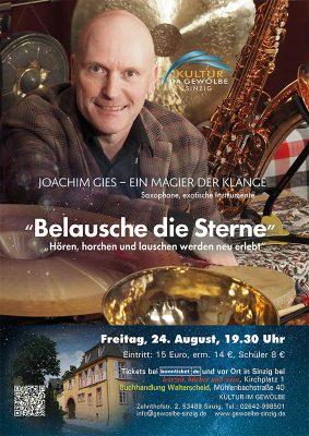 Belausche die Sterne mit Klangmagier Joachim Gies @ Gewölbe im Zehnthof | Sinzig | Rheinland-Pfalz | Deutschland