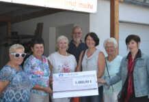 1.000 Euro spendet kfd Bad Breisig der Ahrweiler Tafel