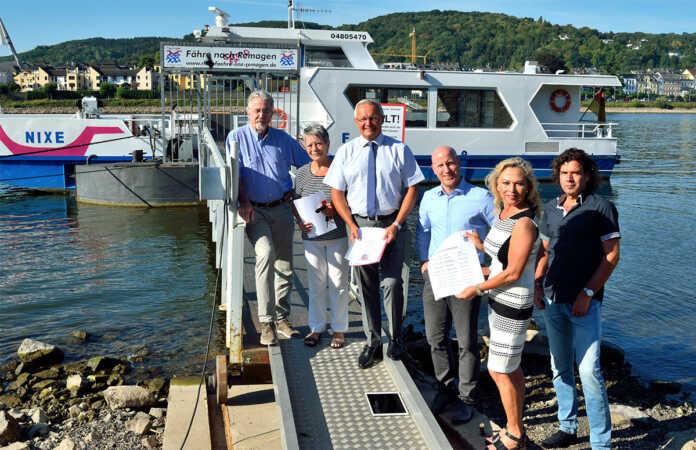 Betrieb der Personenfähre Nixe bleibt auch in 2019 gesichert