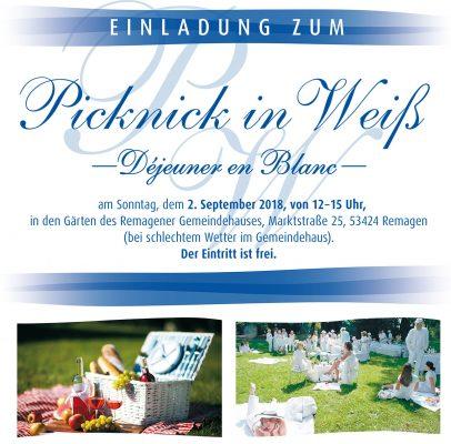Picknick in weiß @ Evangelisches Gemeindehaus Remagen | Remagen | Rheinland-Pfalz | Deutschland