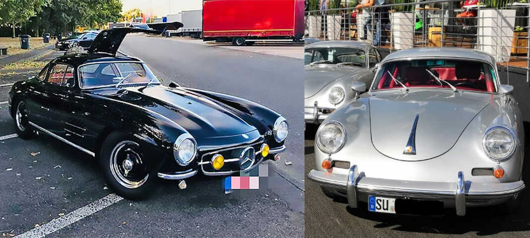 Porsche 356 und Mercedes 300 SL am Nürburgring gestohlen