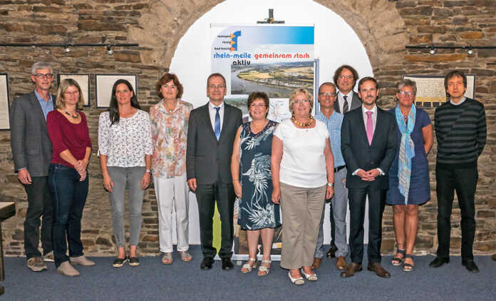 Sinzigs Bürgermeister Andreas Geron übernimmt Vorsitz des Rhein-Meile-aktiv