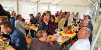 SPD-Sommerfest: Gute Stimmung trotz Regenschauer
