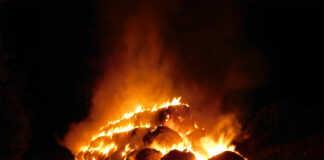 Die Region brennt