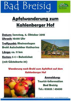 Apfelwanderung zum Kahlenberger Hof @ Brohl-Lützing | Brohl-Lützing | Rheinland-Pfalz | Deutschland