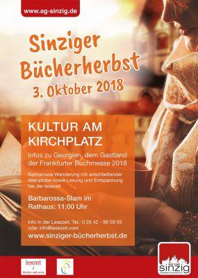 Sinziger Bücherherbst am 3. Oktober 2018 @ Kirchplatz Sinzig | Sinzig | Rheinland-Pfalz | Deutschland