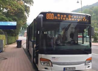 Mit der neuen Linie 800 stündlich durch Bad Breisig und Umgebung