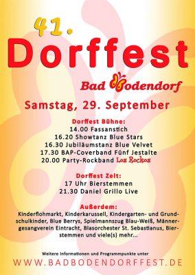 41. Dorffest in Bad Bodendorf 2018 @ Bad Bodendorf | Sinzig | Rheinland-Pfalz | Deutschland