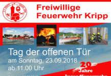Tag der offenen Tür 2018 der Freiwilligen Feuerwehr Kripp