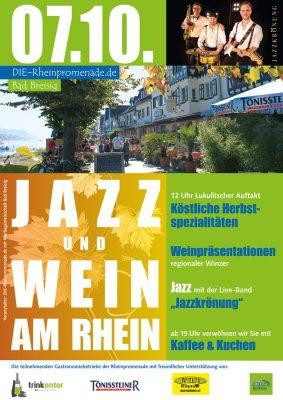 Jazz & Wein am Rhein 2018 @ Bad Breisig Rheinpromenade | Bad Breisig | Rheinland-Pfalz | Deutschland