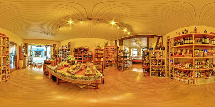360° Rundum Ansichten für den Einzelhandel