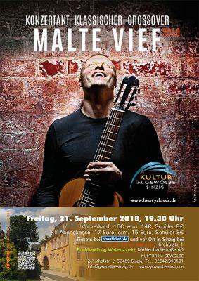 Malte Vief - konzertante Musik die rockt @ Gewölbe im Zehnthof | Sinzig | Rheinland-Pfalz | Deutschland