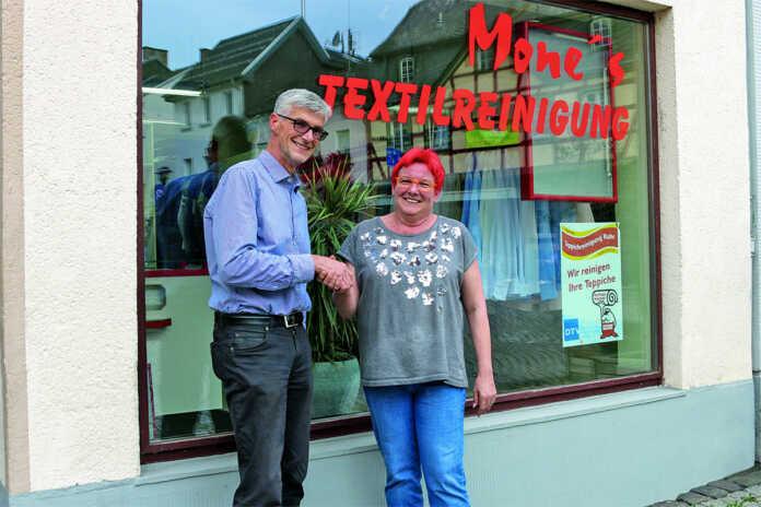 Mone's Textilreinigung jetzt auch Mitglied der Aktivgemeinschaft