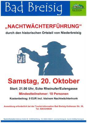 Nachtwächterführung durch Bad Breisig @ Bad Breisig | Bad Breisig | Rheinland-Pfalz | Deutschland