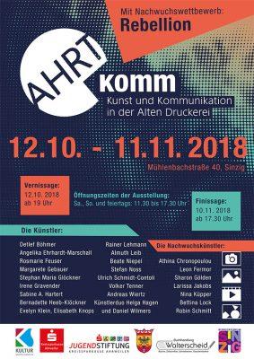 Kunstschau AHRTkomm feiert Premiere @ Alte Druckerei | Sinzig | Rheinland-Pfalz | Deutschland