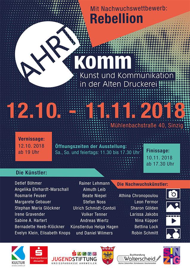 Kunstschau AHRTkomm feiert Premiere