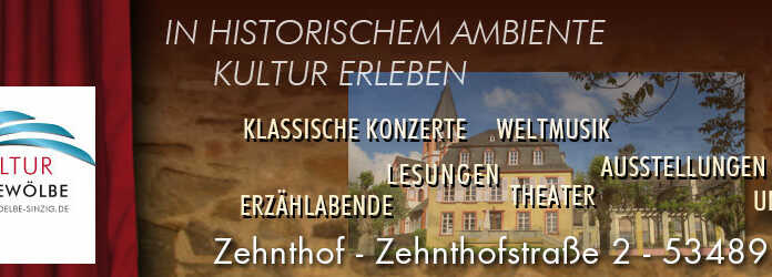 Kultur im Gewölbe im Sinziger Zehnthof schließt zum Jahresende