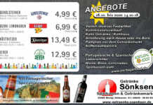 Angebote bei Getränke Sönksen vom 18.10. bis 24.10. 2018