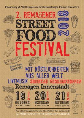 2. Streetfood-Festival in Remagen @ Remagen Grabenstraße | Remagen | Rheinland-Pfalz | Deutschland