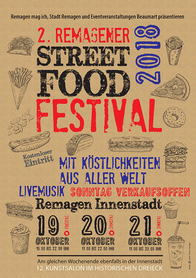 2. Streetfood-Festival in Remagen