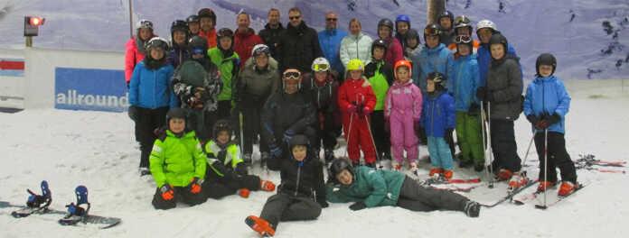 TV Sinzig Skijugend auf dem Neusser Gletscher