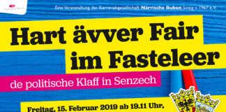 Närrischer Polit-Talk im Sinzijer Fastelovend