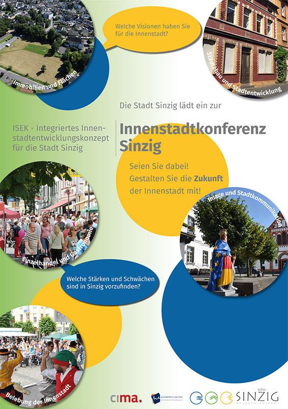 ISEK Innenstadt Sinzig – Zweite Planungswerkstatt am 12.11.2018
