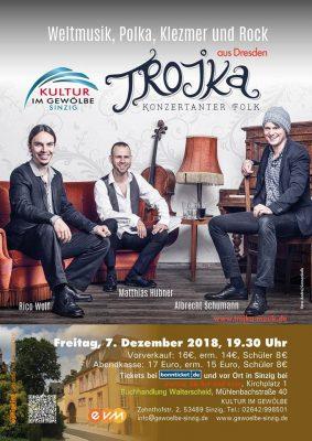 Trojka im Gewölbe @ Gewölbe im Zehnthof | Sinzig | Rheinland-Pfalz | Deutschland