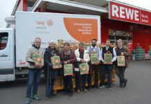 Kunden des REWE-Markt Azhari Sinzig unterstützen Tafel Ahrweiler