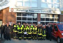 19 neue Feuerwehrleute im Kreis AW