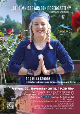 Geheimnisse aus den Rosengärten @ Gewölbe im Zehnthof | Sinzig | Rheinland-Pfalz | Deutschland