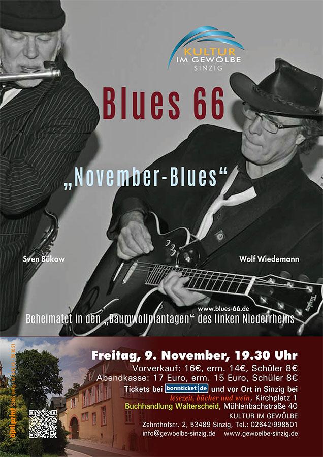 Novemberblues mit dem Duo