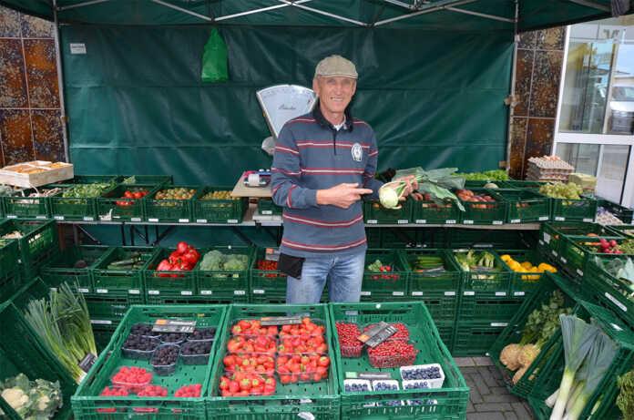 Remagener Wochenmarkt begrüßt einen neuen Händler