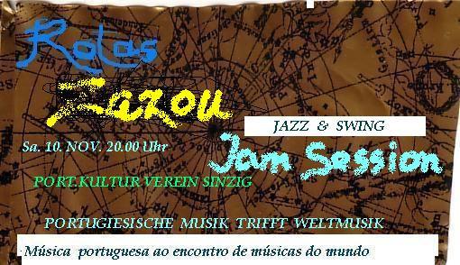 ZAZOU im portugiesischen Kulturzentrum